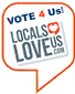 Locals Love Us... Vote 4 Us... Make us #1 in the Quad Cities